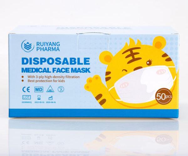 Children's 3ply medical face mask