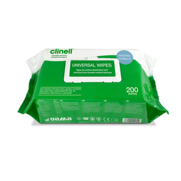 Clinell Universal Wipes 200 pack