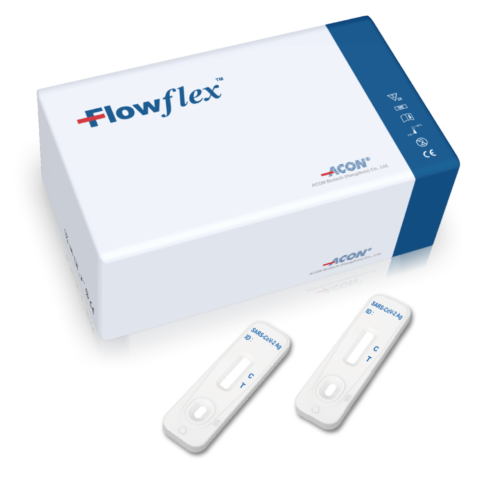 FLOWFLEX SARS-COV-2 ANTIGEN RAPID TEST (FOR COVID-19)
